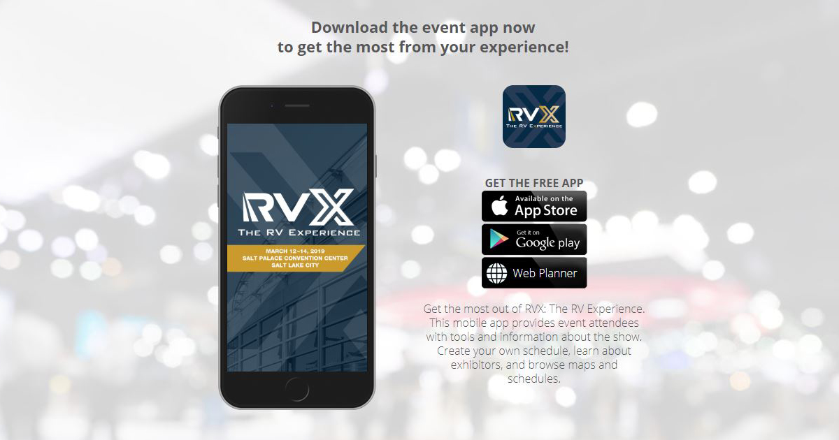Rvx Launches Event Mobile App For Attendees Rvia