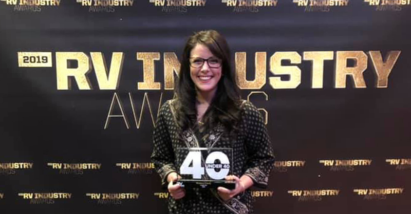 RV Industry 40 Under 40: Shannon Esterly | RVIA