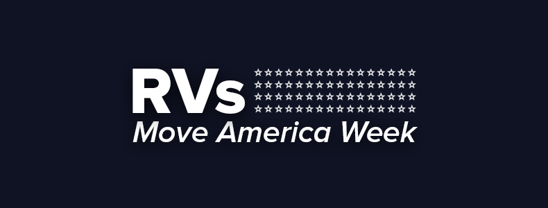 RVs Move America Week Marquee